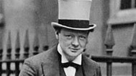 Churchill, le politicien